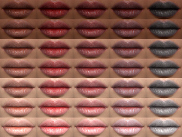 Flora Lipstick 05 HQ by Alf si at TSR image 482 Sims 4 Updates