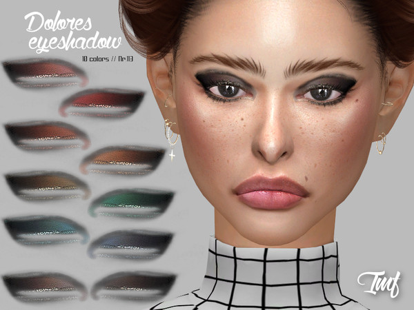 Sims 4 IMF Dolores Eyeshadow N.113 by IzzieMcFire at TSR