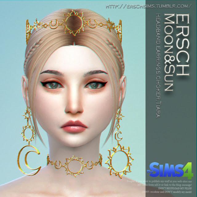 Sims 4 Moon&Sun Set at ErSch Sims