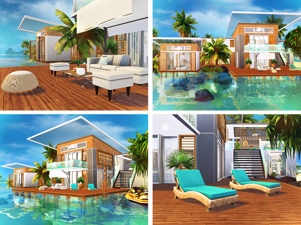 Neelima contemporary house by Rirann at TSR image 5120 Sims 4 Updates
