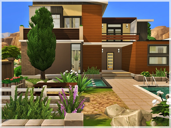 Sims 4 Lolita house by Ray Sims at TSR
