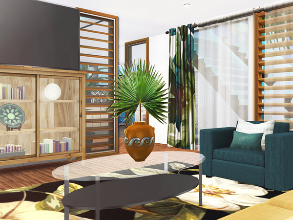 Neelima contemporary house by Rirann at TSR image 5316 Sims 4 Updates
