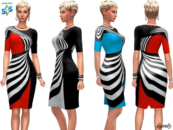 Sims 4 Dress 201910 09 by dgandy at TSR