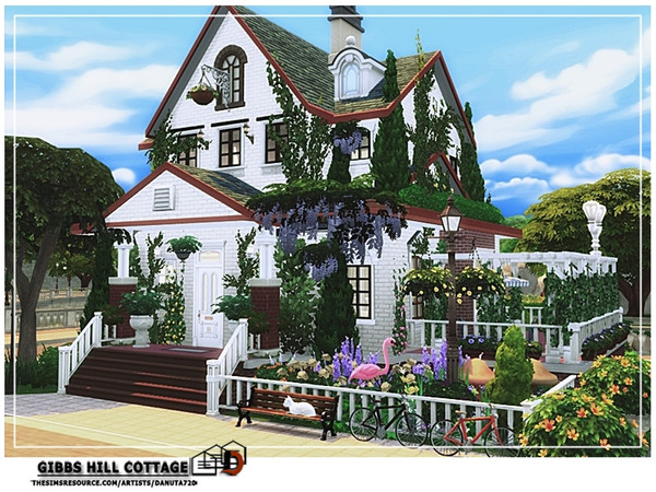 Gibbs Hill Cottage by Danuta720 at TSR image 5416 Sims 4 Updates