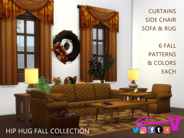Hip Fall Collection by SimmieV at TSR image 550 Sims 4 Updates