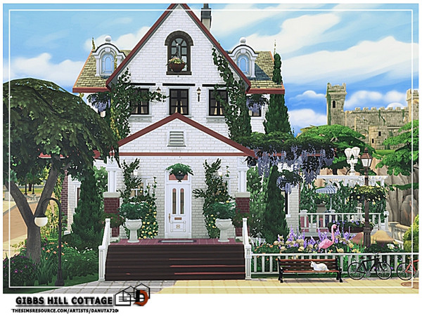 Gibbs Hill Cottage by Danuta720 at TSR image 5516 Sims 4 Updates