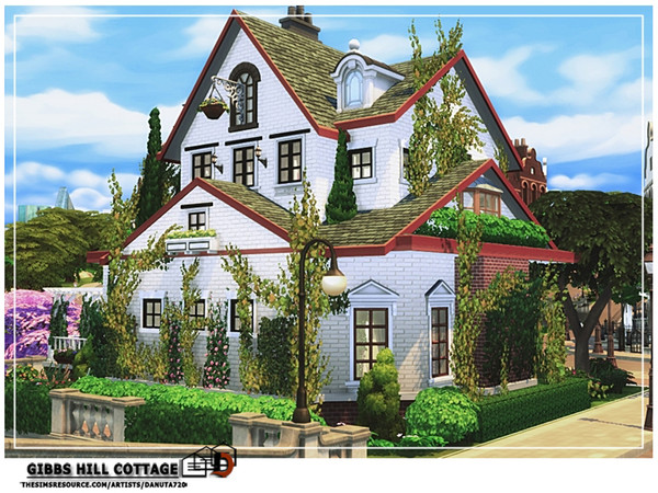 Gibbs Hill Cottage by Danuta720 at TSR image 5616 Sims 4 Updates