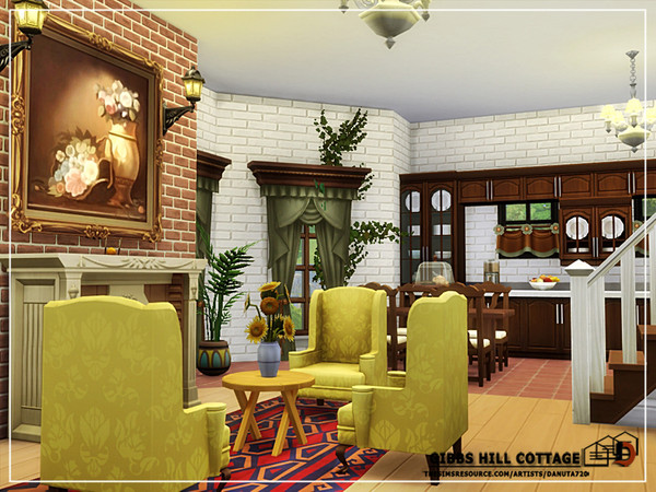 Gibbs Hill Cottage by Danuta720 at TSR image 5716 Sims 4 Updates