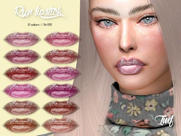 Sims 4 IMF Ryn Lipstick N.222 by IzzieMcFire at TSR