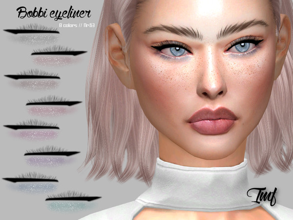 Sims 4 IMF Bobbi Eyeliner N.63 by IzzieMcFire at TSR