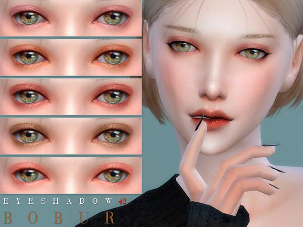 Eyeshadow 42 by Bobur3 at TSR image 5916 Sims 4 Updates