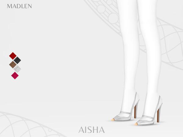 Sims 4 Madlen Aisha Shoes by MJ95 at TSR