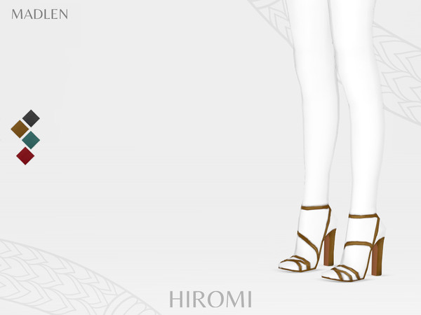 Sims 4 Madlen Hiromi Shoes by MJ95 at TSR