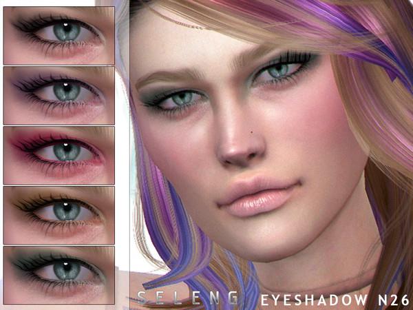 Sims 4 Eyeshadow N26 by Seleng at TSR