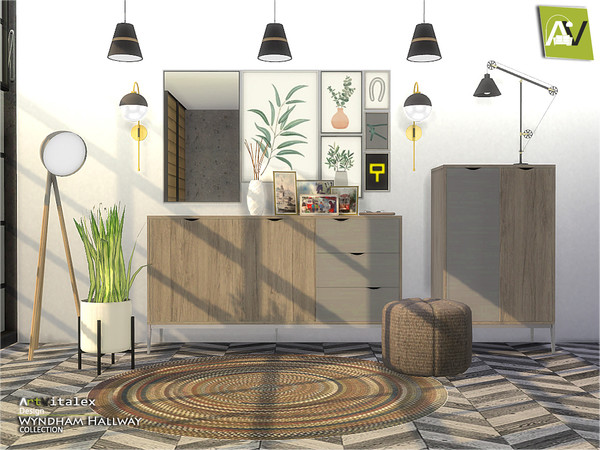 Wyndham Hallway by ArtVitalex at TSR image 608 Sims 4 Updates