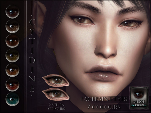 Sims 4 Cytidine Eyes by RemusSirion at TSR