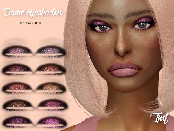 Sims 4 IMF Danni Eyeshadow N.115 by IzzieMcFire at TSR
