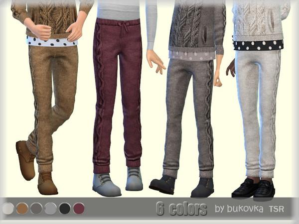 Sims 4 Pants Knitted by bukovka at TSR