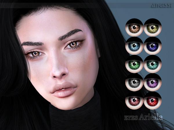 Sims 4 Ariella eyes by ANGISSI at TSR