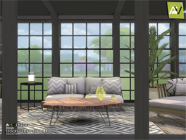Stockwell Outdoor Living by ArtVitalex at TSR image 649 Sims 4 Updates