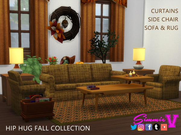 Hip Fall Collection by SimmieV at TSR image 650 Sims 4 Updates