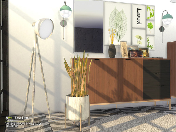 Wyndham Hallway by ArtVitalex at TSR image 658 Sims 4 Updates