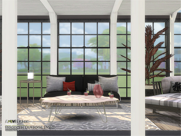 Stockwell Outdoor Living by ArtVitalex at TSR image 668 Sims 4 Updates