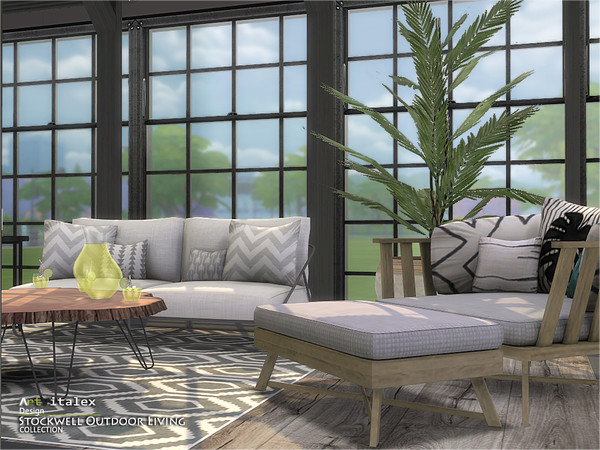 Stockwell Outdoor Living by ArtVitalex at TSR image 679 Sims 4 Updates
