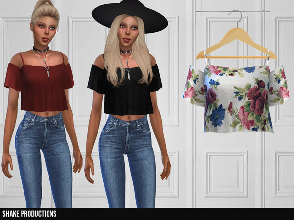 339 Top by ShakeProductions at TSR image 6816 Sims 4 Updates
