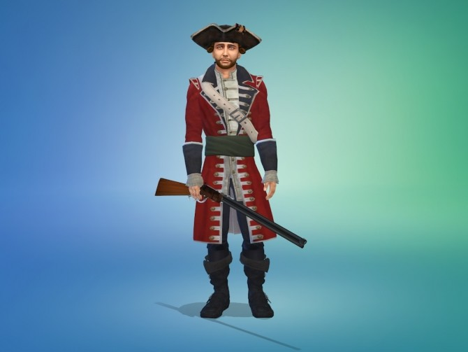 18th Century British Red Coat Soldier by Nutter Butter 1 at Mod The Sims image 6817 670x503 Sims 4 Updates