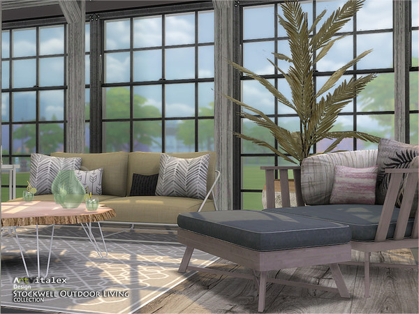 Stockwell Outdoor Living by ArtVitalex at TSR image 689 Sims 4 Updates