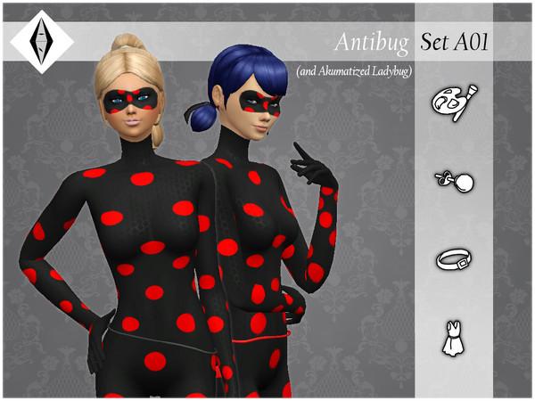 Sims 4 Antibug SetA01 by AleNikSimmer at TSR