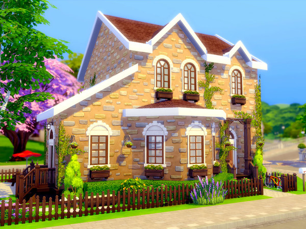 Gibbs Hill Cottage by sharon337 at TSR image 7014 Sims 4 Updates