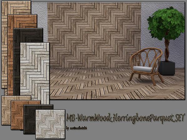 Med Herringbone Parquet SET by matomibotaki at TSR image 706 Sims 4 Updates