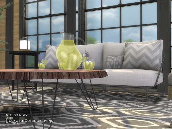 Stockwell Outdoor Living by ArtVitalex at TSR image 709 Sims 4 Updates