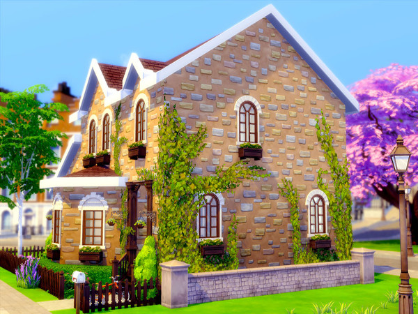 Gibbs Hill Cottage by sharon337 at TSR image 7118 Sims 4 Updates