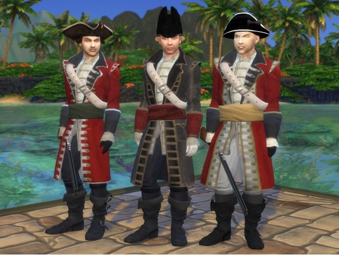 18th Century British Red Coat Soldier by Nutter Butter 1 at Mod The Sims image 7121 670x503 Sims 4 Updates