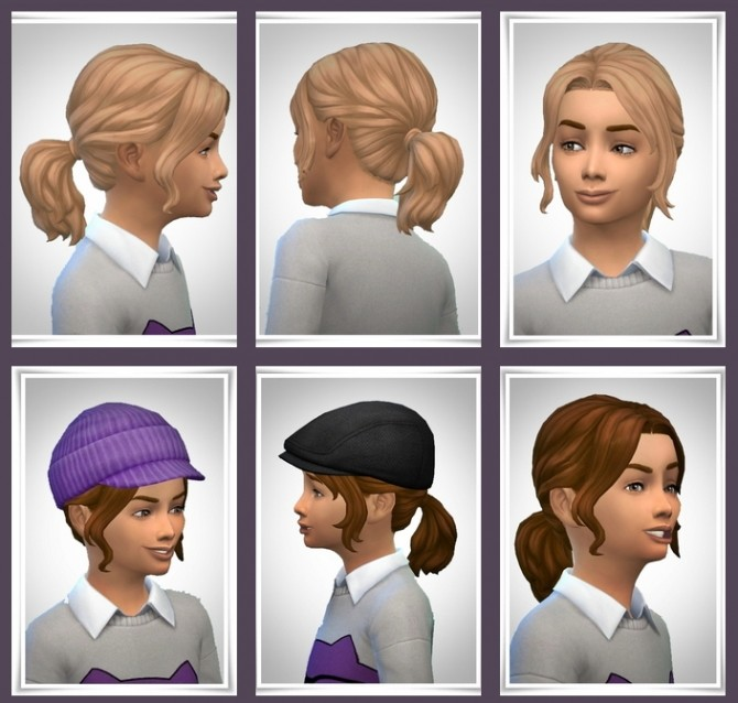 Sims 4 Lacey Hair at Birksches Sims Blog