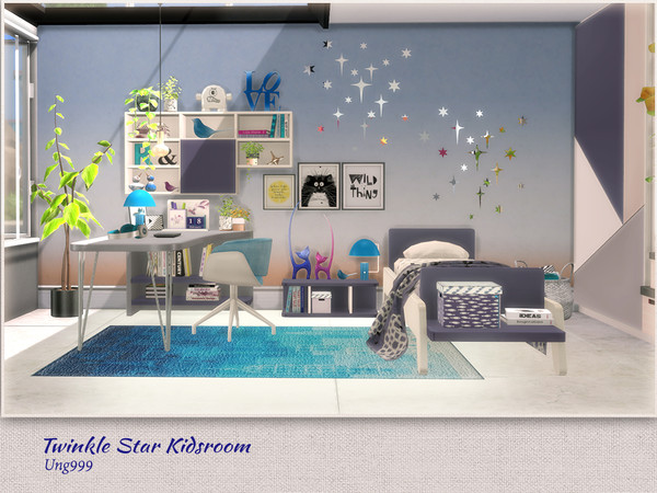 Twinkle Star Kidsroom by ung999 at TSR image 7217 Sims 4 Updates