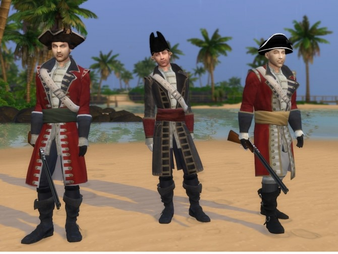 18th Century British Red Coat Soldier by Nutter Butter 1 at Mod The Sims image 7218 670x503 Sims 4 Updates