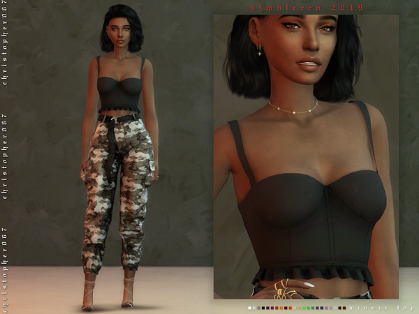Winnie Top by Christopher067 at TSR image 724 Sims 4 Updates
