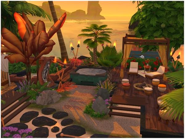 Sims 4 Sunset Beach by lotsbymanal at TSR