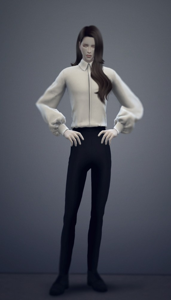 Sims 4 Male outfit at Chaessi