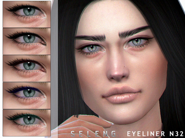 Eyeliner N32 by Seleng at TSR image 739 Sims 4 Updates