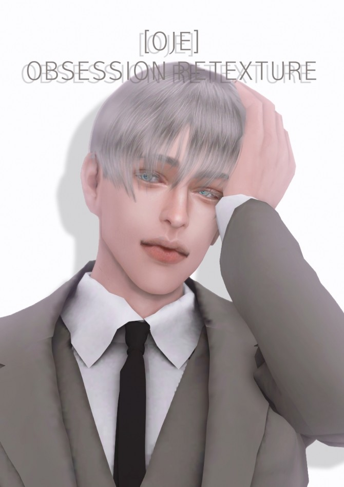 Sims 4 OBSESSION HAIR RETEXTURE at OJE