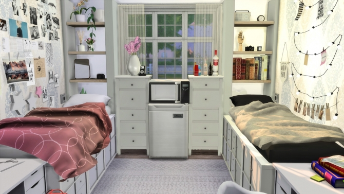 Dorm Room At Modelsims4 187 Sims 4 Updates