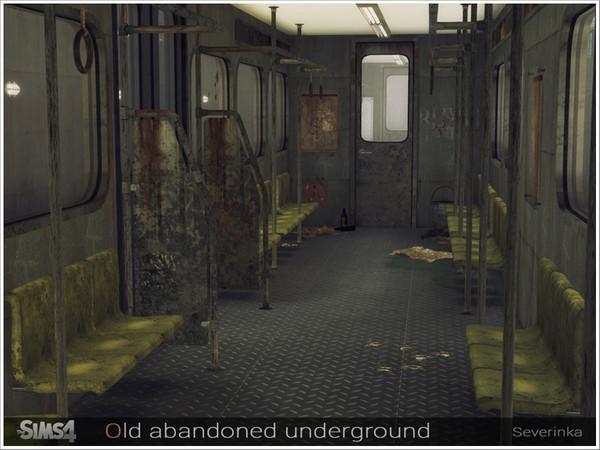 Old abandoned underground by Severinka at TSR image 749 Sims 4 Updates
