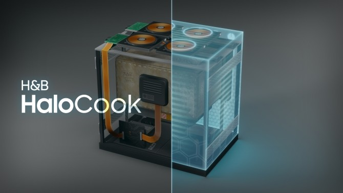 Sims 4 H&B HaloCook   Hologram High Quality Stove by littledica at Mod The Sims
