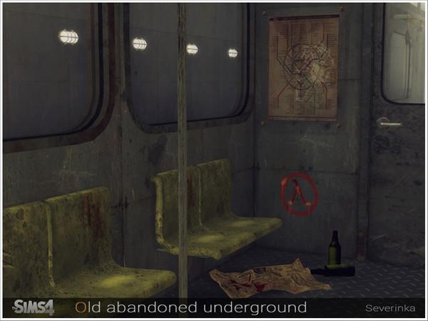 Old abandoned underground by Severinka at TSR image 769 Sims 4 Updates