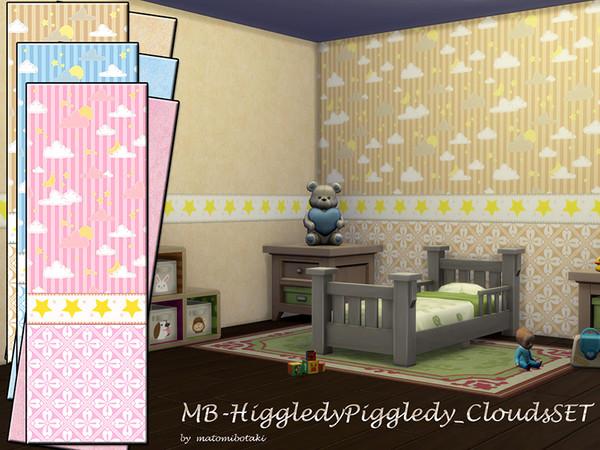 Sims 4 MB Higgledy Piggledy Clouds SET by matomibotaki at TSR